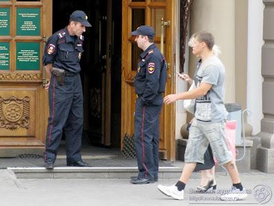Полицейские в Казани на Универсиаду 2013