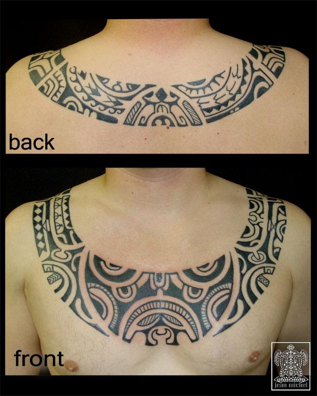 tatouage collier polynesien - Colliers et Couronnes Tatouage Polynésien