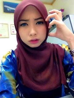 Awekz Bertudung Melayu Gadis Cantik Ayu