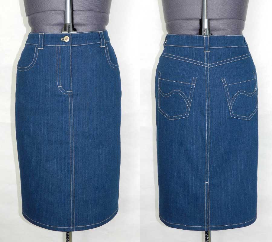 Что сшить из брюк юбку 592