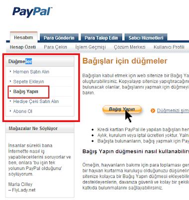 Paypal Bağış / Donate Butonu Eklemek