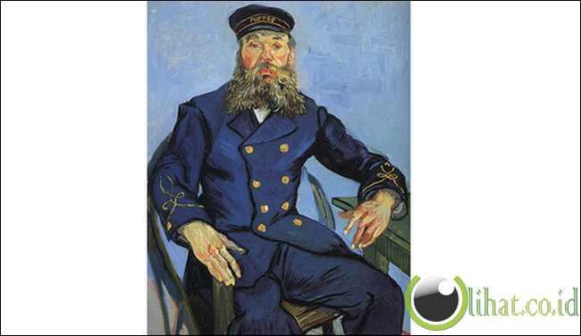 Portrait of Joseph Roulin oleh Vincent van Gogh