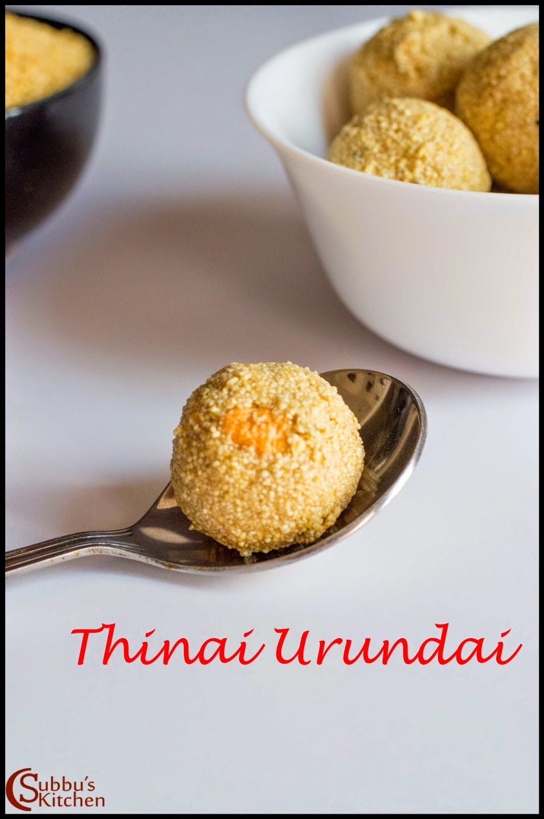 Thinai Urundai Recipe | Thinai Then Laddu| Foxtail Millet Honey Balls Recipe
