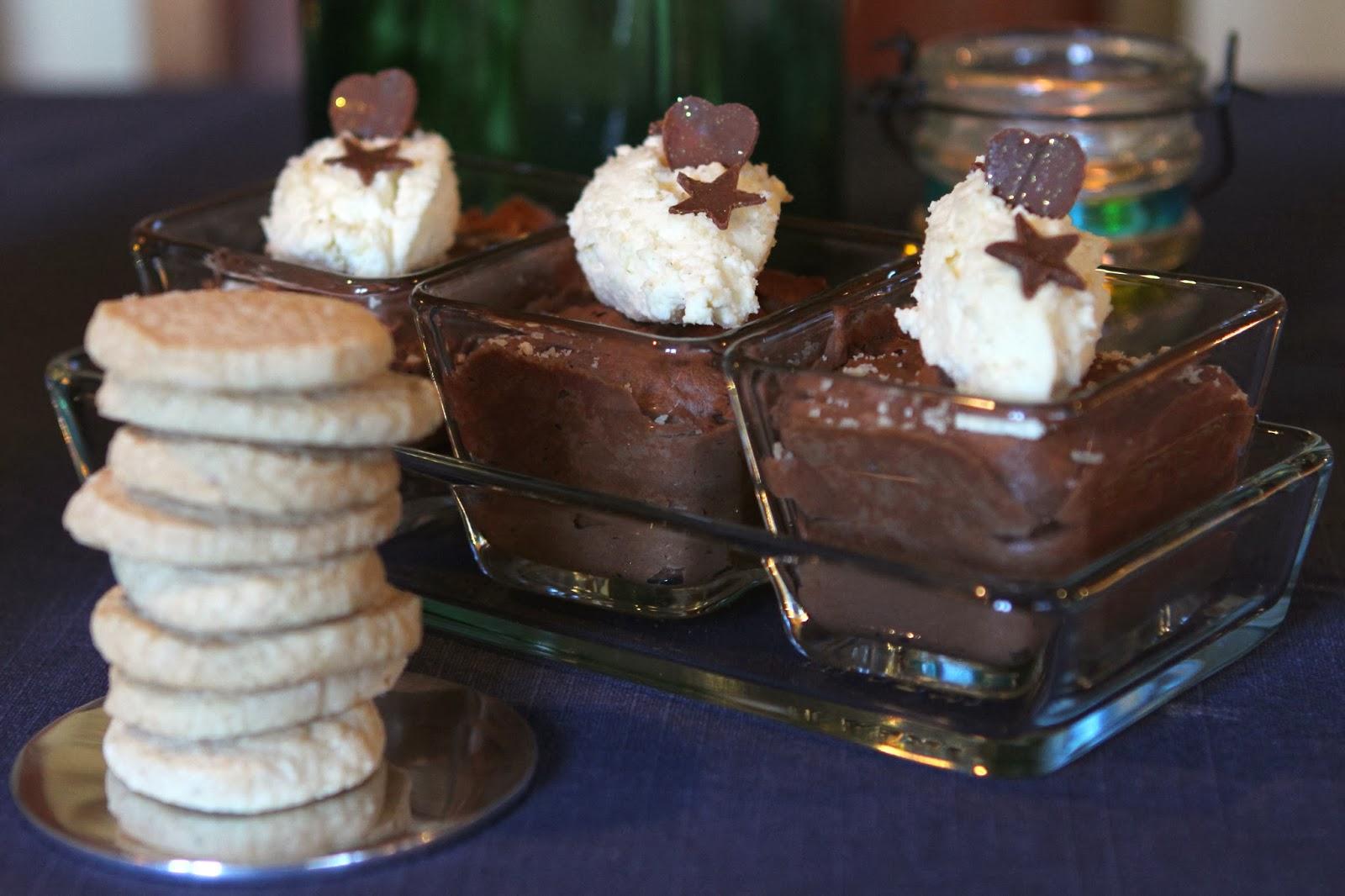 Gluten Free Alchemist: Rich Dark Chocolate Mousse with White ...