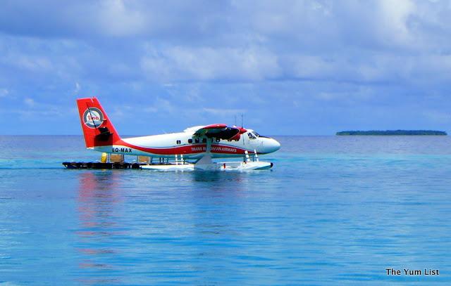 Seaplane Transfer, Trans Maldivian Airways, Male, Maldives