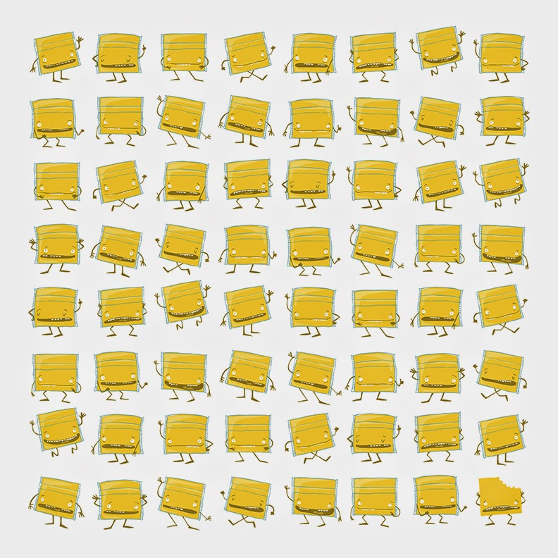 64 Slices Of Individually Wrapped American Cheese