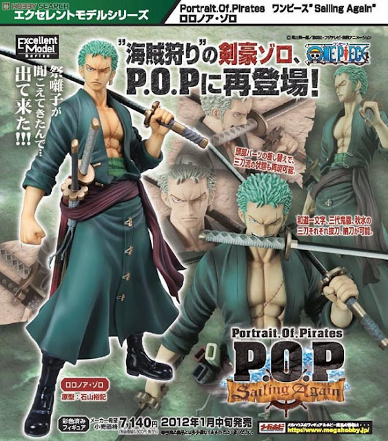 POP One Piece Sailing Again Roronoa Zoro