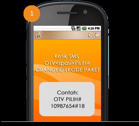 aktivasi paket orange tv - 99 Pulsa