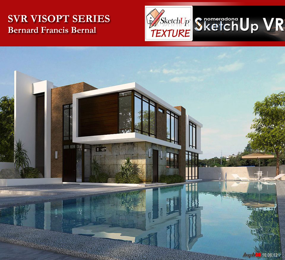 Sketchup texture vray for sketchup visopt download 4 for Setting render vray sketchup exterior