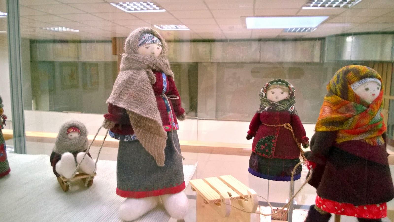 текстильная народная кукла