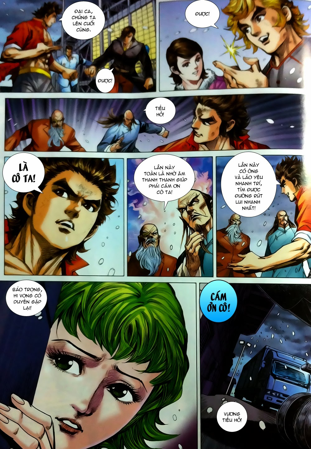 Tân Tác Long Hổ Môn chap 780 - Trang 25