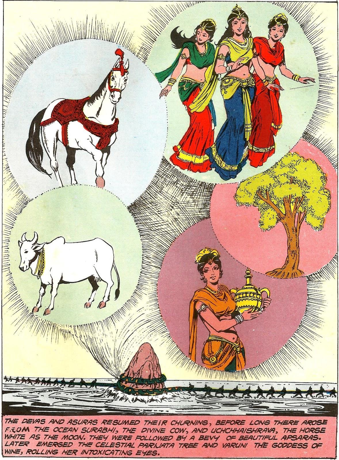 Samudra manthan story