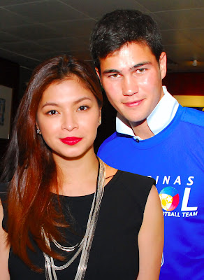 Angel Locsin and Phil Younghusband