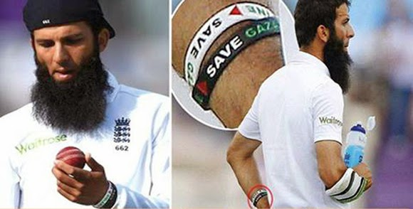 Moin Ali (English Cricketer) banned due to support of Gaza