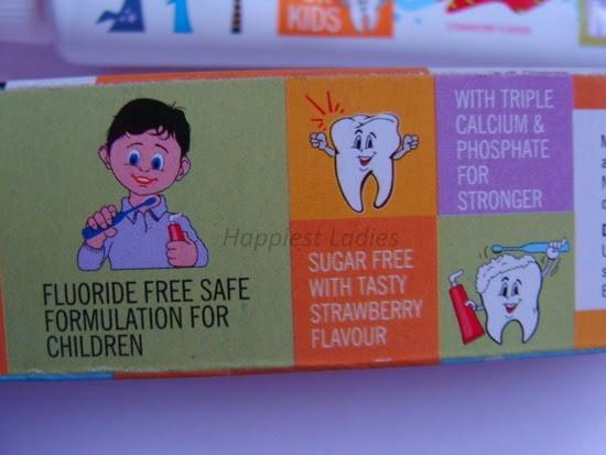 Mee Mee Toothpaste Flouride free