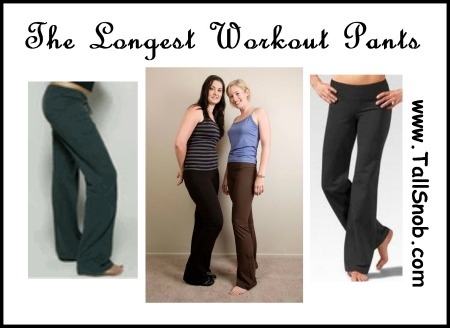 Work out clothes for tall women