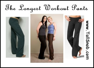 the longest tall workout pants for women 38 inseam