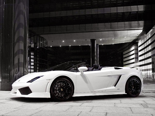 Gambar Lamborghini Gallardo side