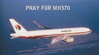Pray For MH370 - sejak 8 Mac 2014