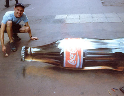 julian beever art - chalk drawings - amazing chalk artist