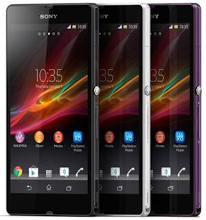 Sony Xperia Z, Harga Sony Xperia Z, Spesifikasi Sony Xperia Z