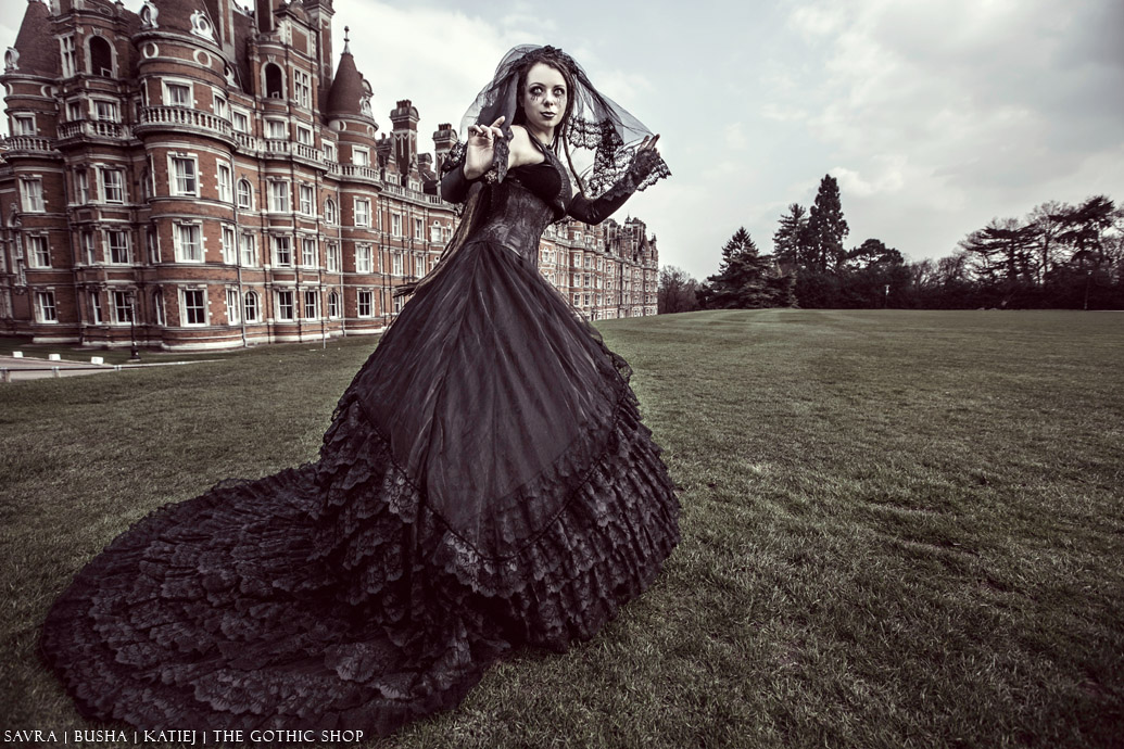 The Gothic Shop Blog: Savra - Busha - The Gothic Wedding Dress by ...