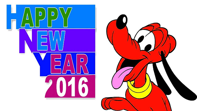 2016 Happy New Year Cartoon HD Wallpapers