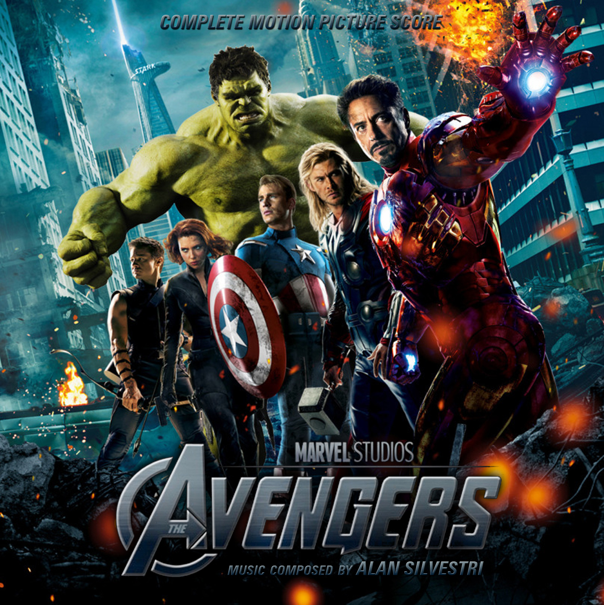 Soundtrack List Covers: The Avengers Complete (Alan Silvestri)
