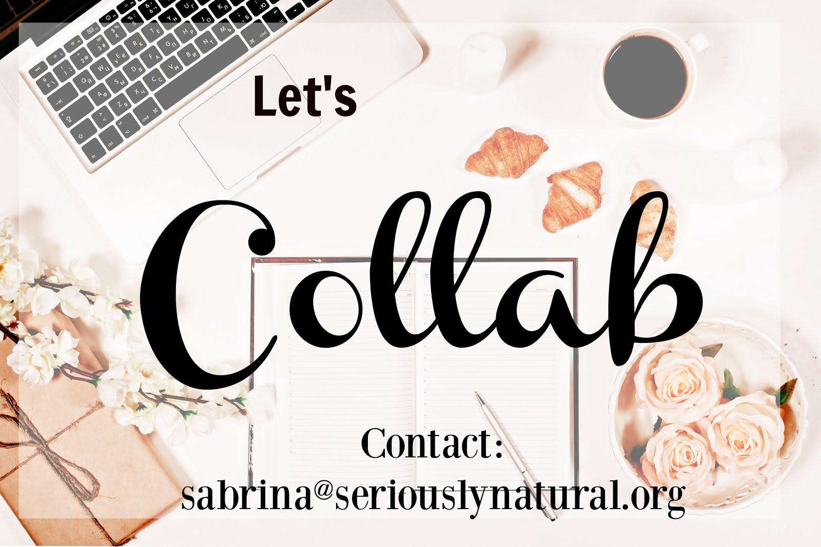 Work With Sabrina!