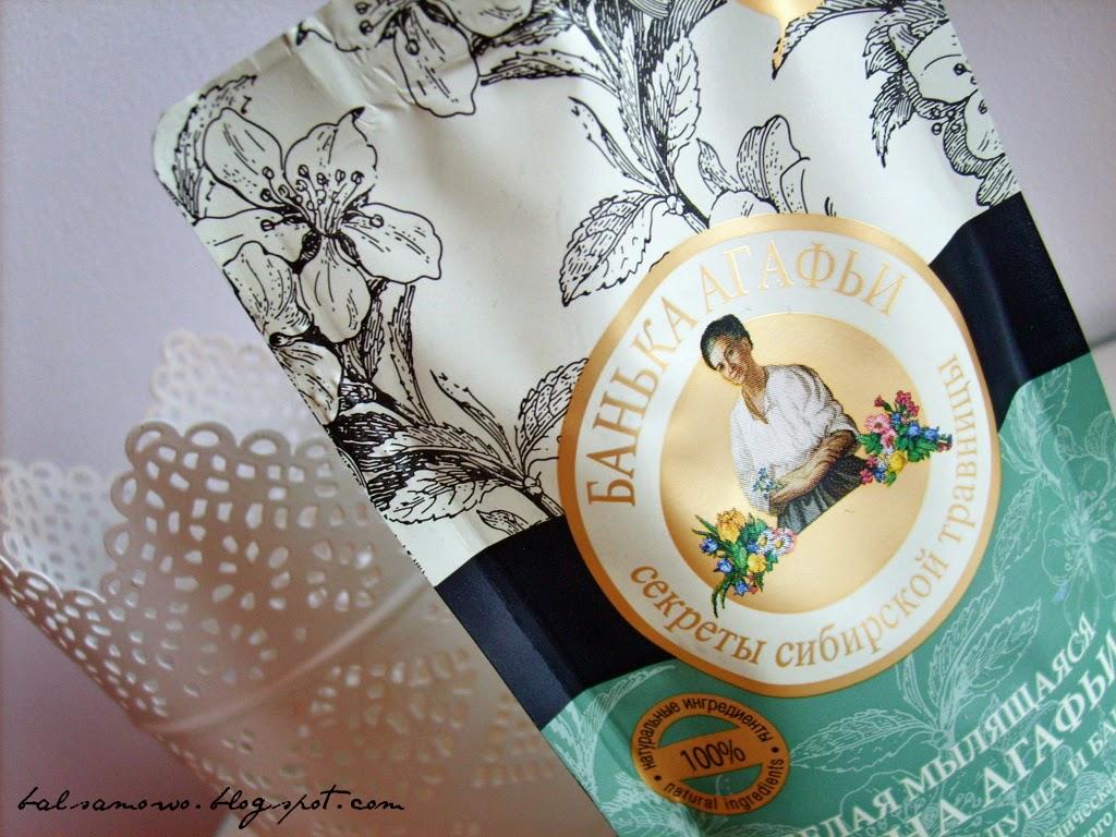 Bania Agafii: Biała glinka do mycia wlosow i ciala