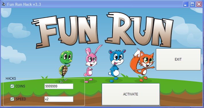 Here is our brand new hack for Fun Run game .
