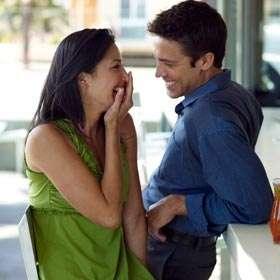 Non verbal flirting