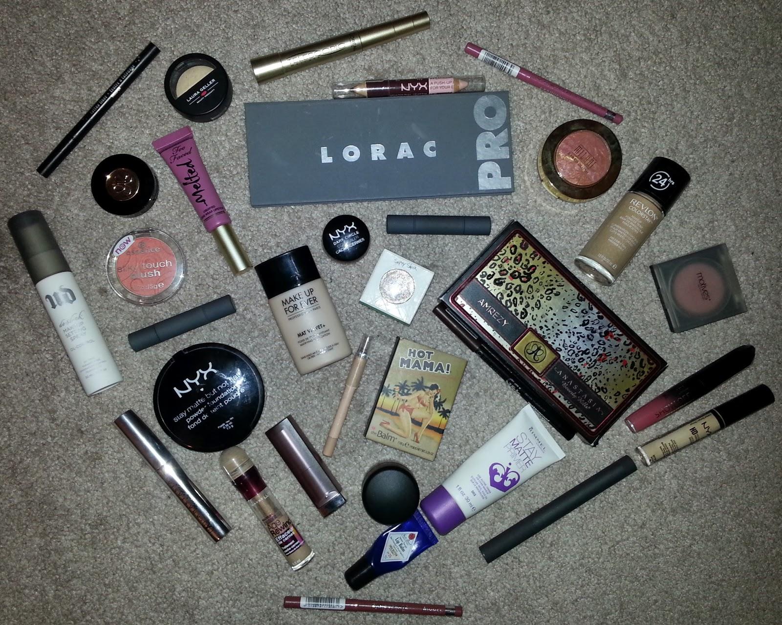 Makeup Favorites 2014
