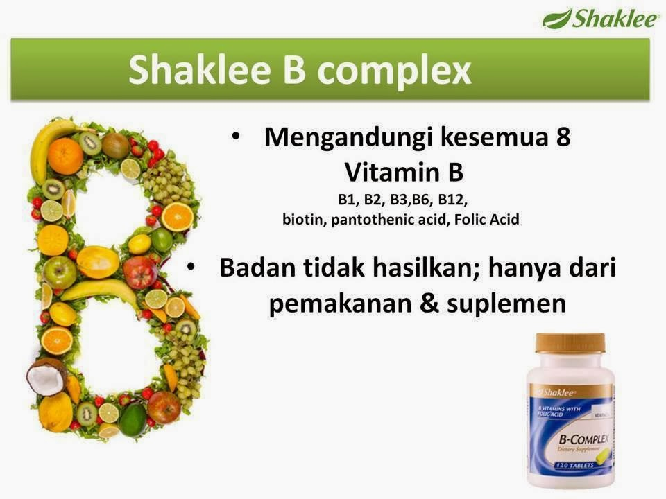 pentingnya B-complex  (Asid Folic)