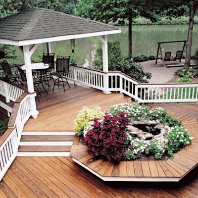 terraza decorada