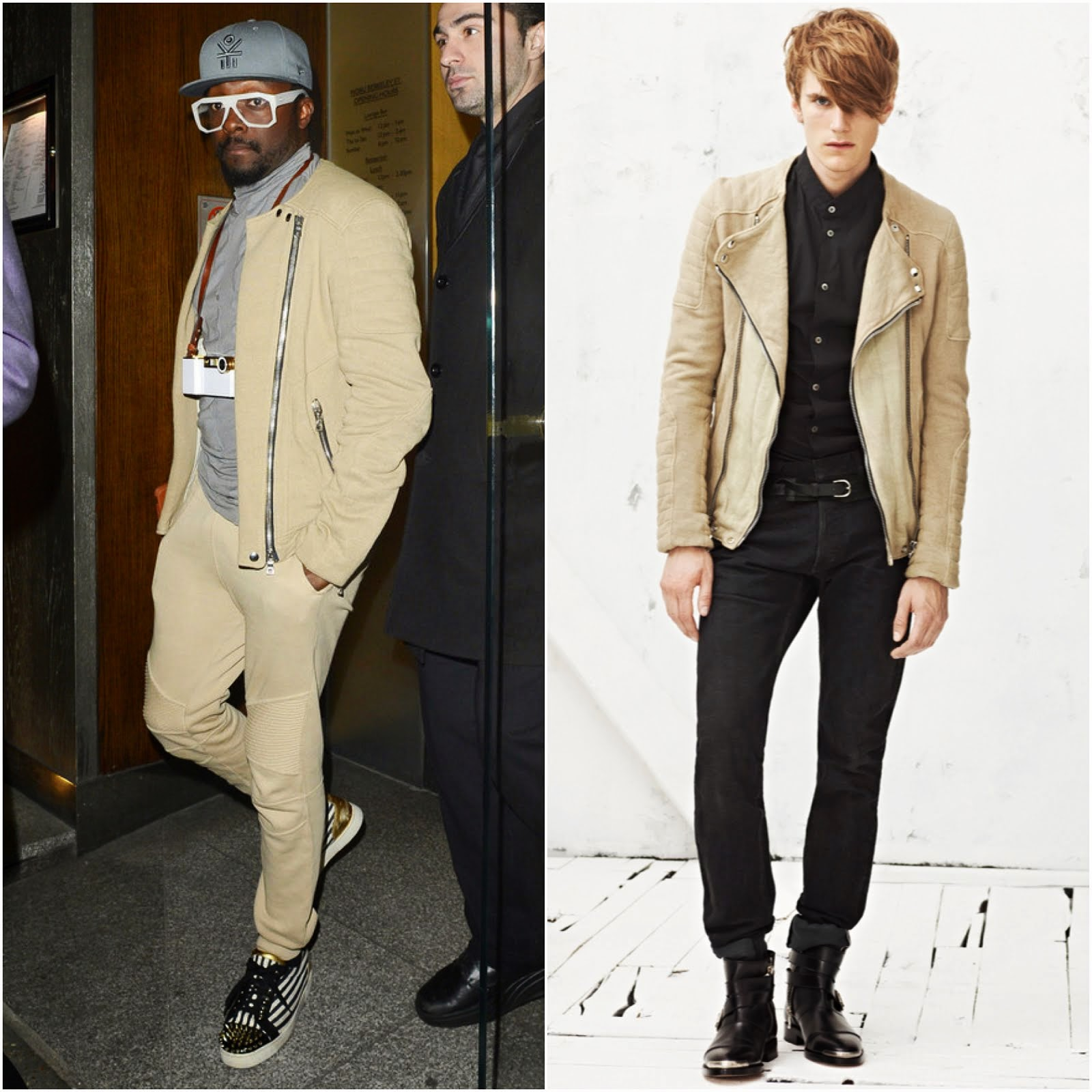 00O00 Menswear Blog: Will.i.am in Balmain Homme - London Street Style June 2013