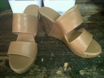 Aneka model sepatu sandal wanita murah,sandal wanita model Apricot