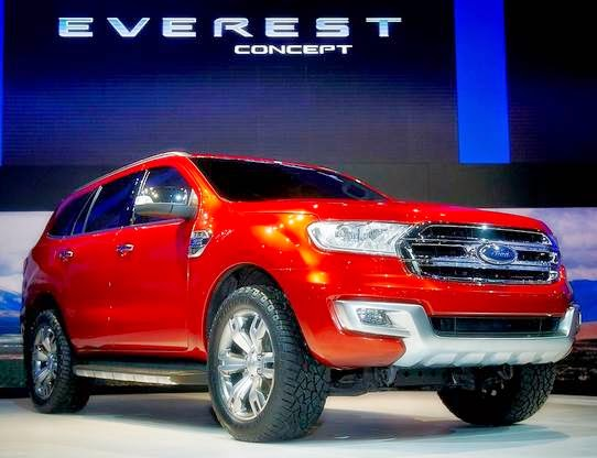 2014 Ford Everest Concept Reviews
