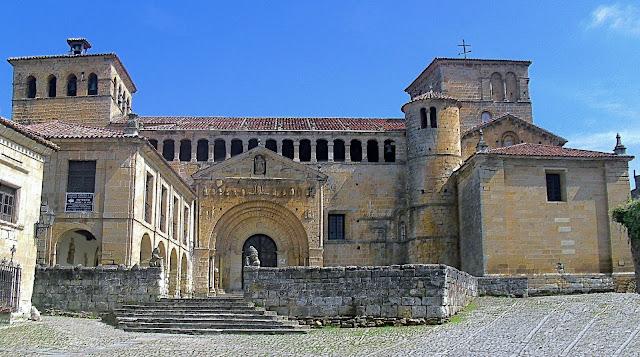 Colegiata de Santa Juliana en Santillana del Mar
