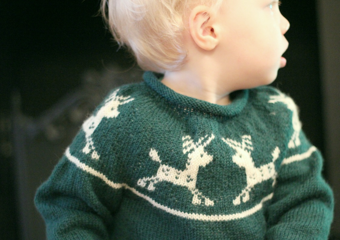 Knitting Pattern Christmas Jumper : Just Call Me Ruby: Junior Christmas Jumper pattern available now