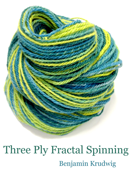three ply fractal spinning  u2013 schacht spindle company