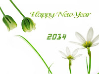 happy new year 2014+images+simple+greenery+flowers 2014 Happy New Year in French | Greetings | Quotes | SMS