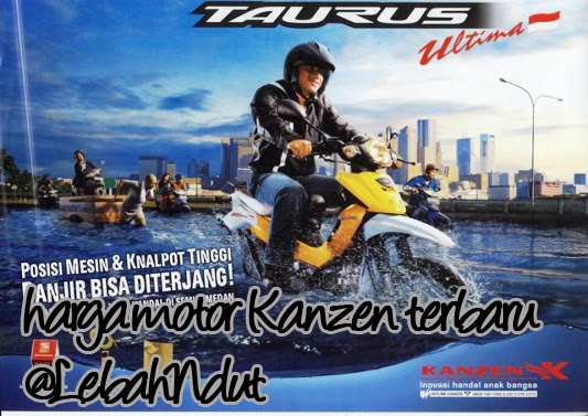 Daftar Harga Motor Kanzen Terbaru Mei 2013 Terkini Terlengkap