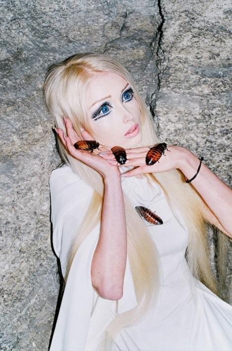 Valeria Lukyanova by Synchrodogs for VICE