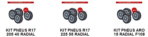 aro 17 Compre Pneus no Carrefour   ofertas e promoções