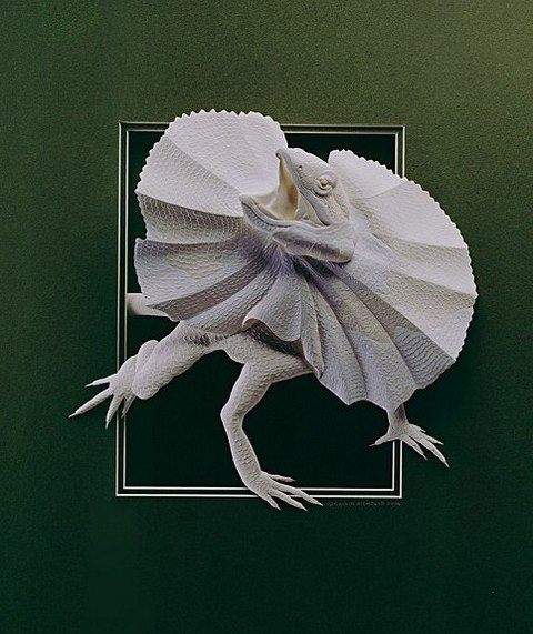 Amazing And Beautiful Paper Sculpture By Canadian Artist