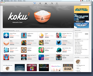 Mac App Store Main Screen