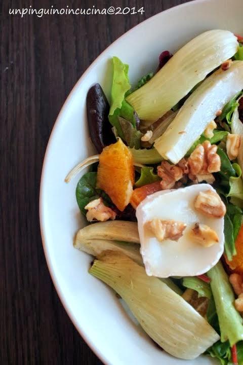 insalata invernale con le arance della salute