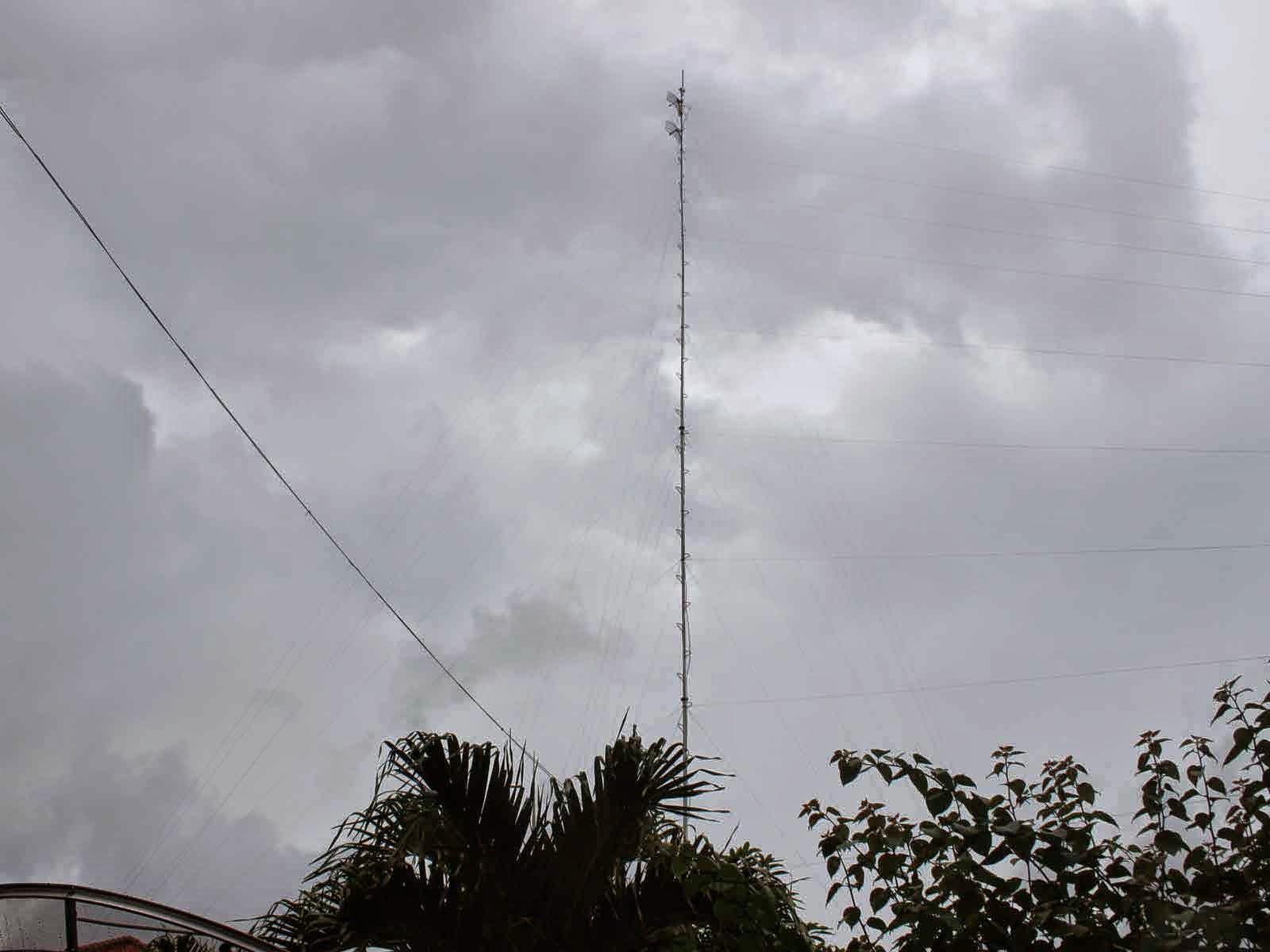 Antenna Wifi SMK N 1 Pakong
