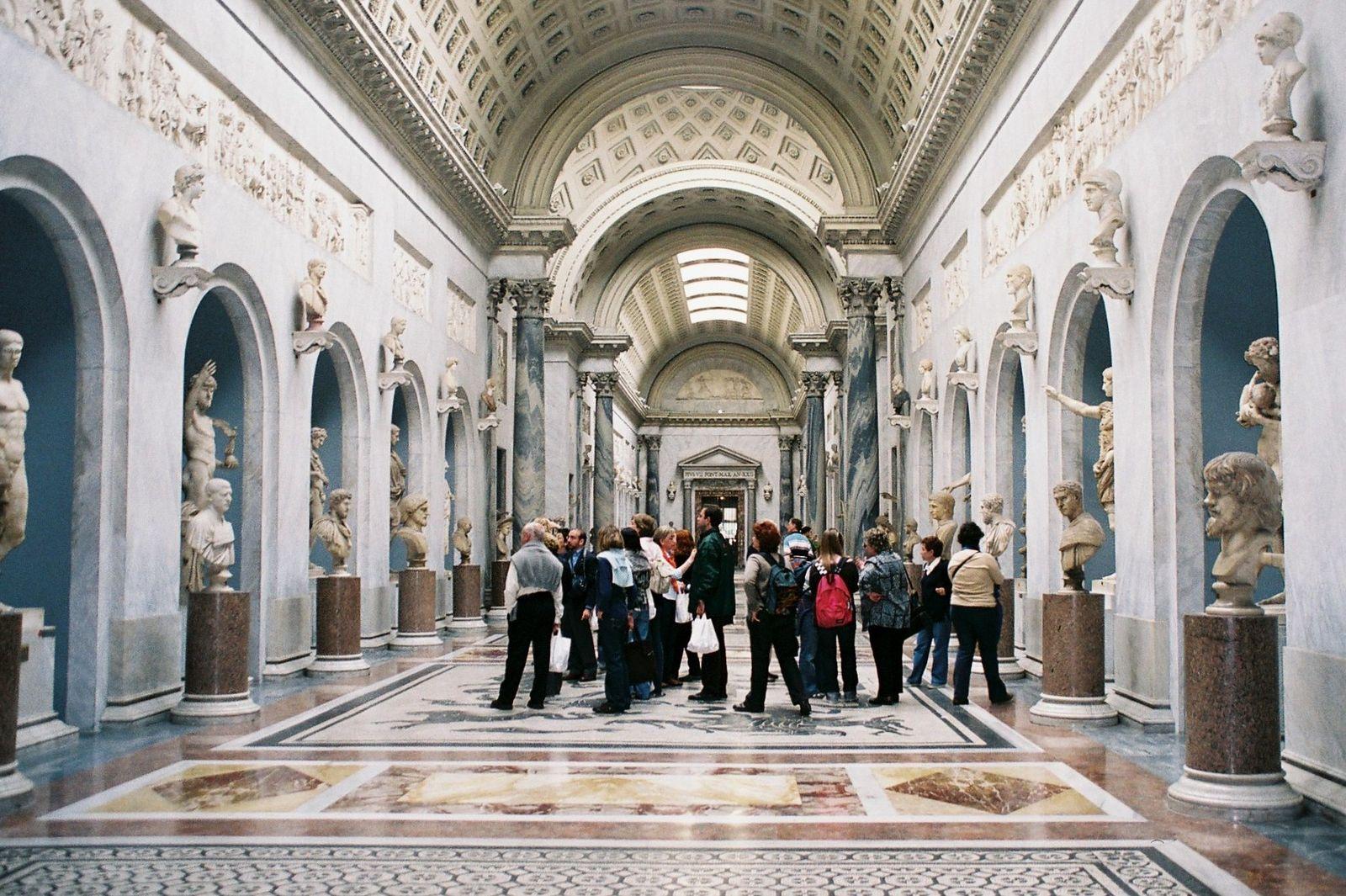 Enlace Museo Vaticano Web oficial